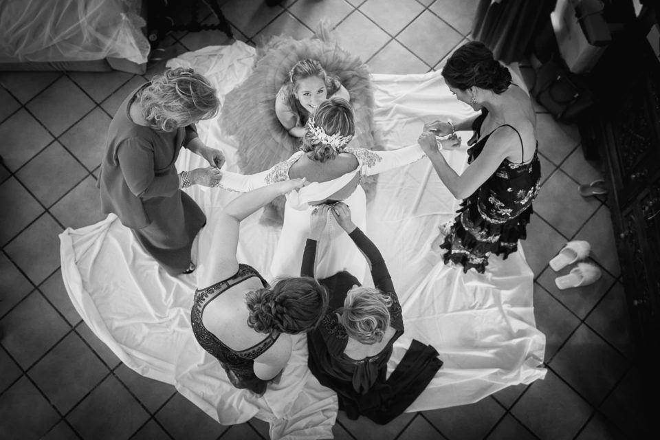 Preparativos novia boda David y Ágata