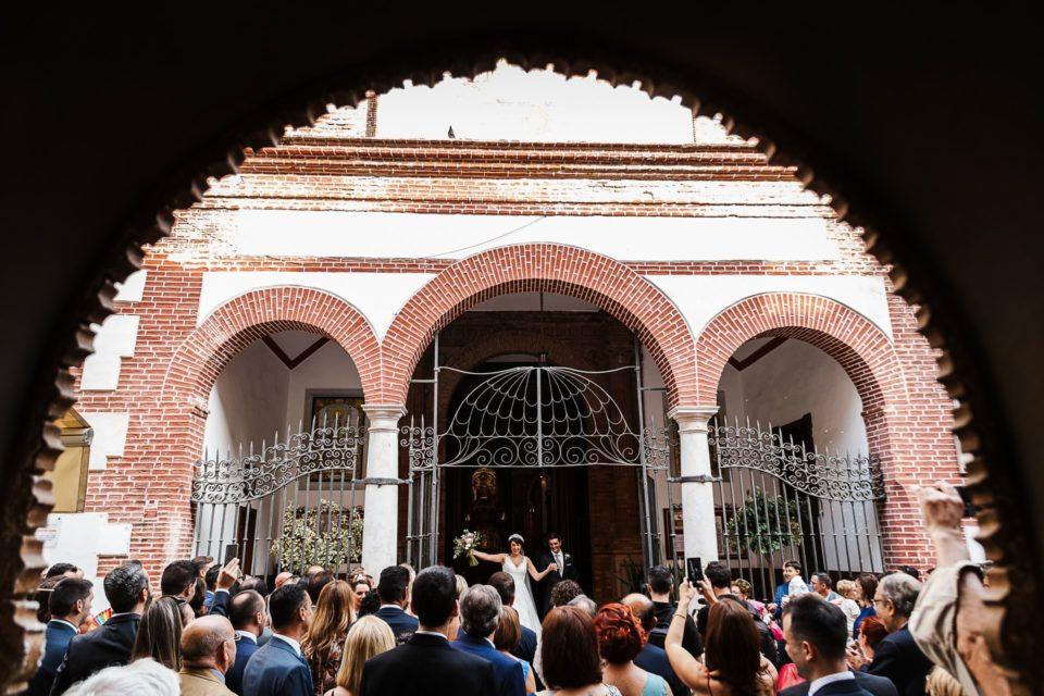 Boda ceremonia religiosa iglesia Los Mártires Málaga