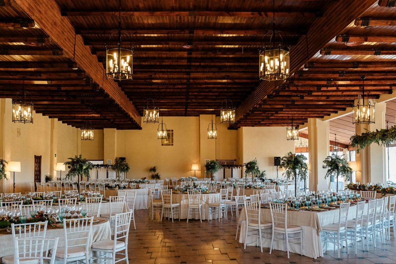Salón Mirador boda Hacienda Dehesa del Colmenar Córdoba