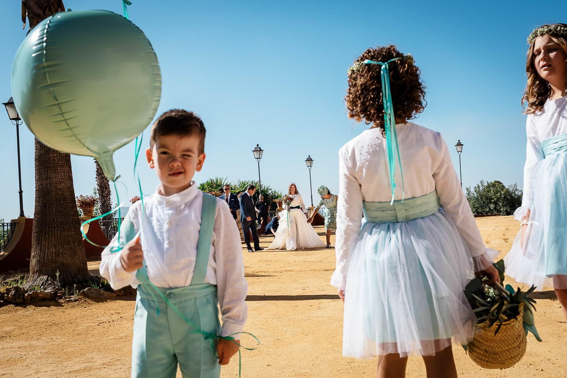 Llegada novia ceremonia civil Boda Córdoba
