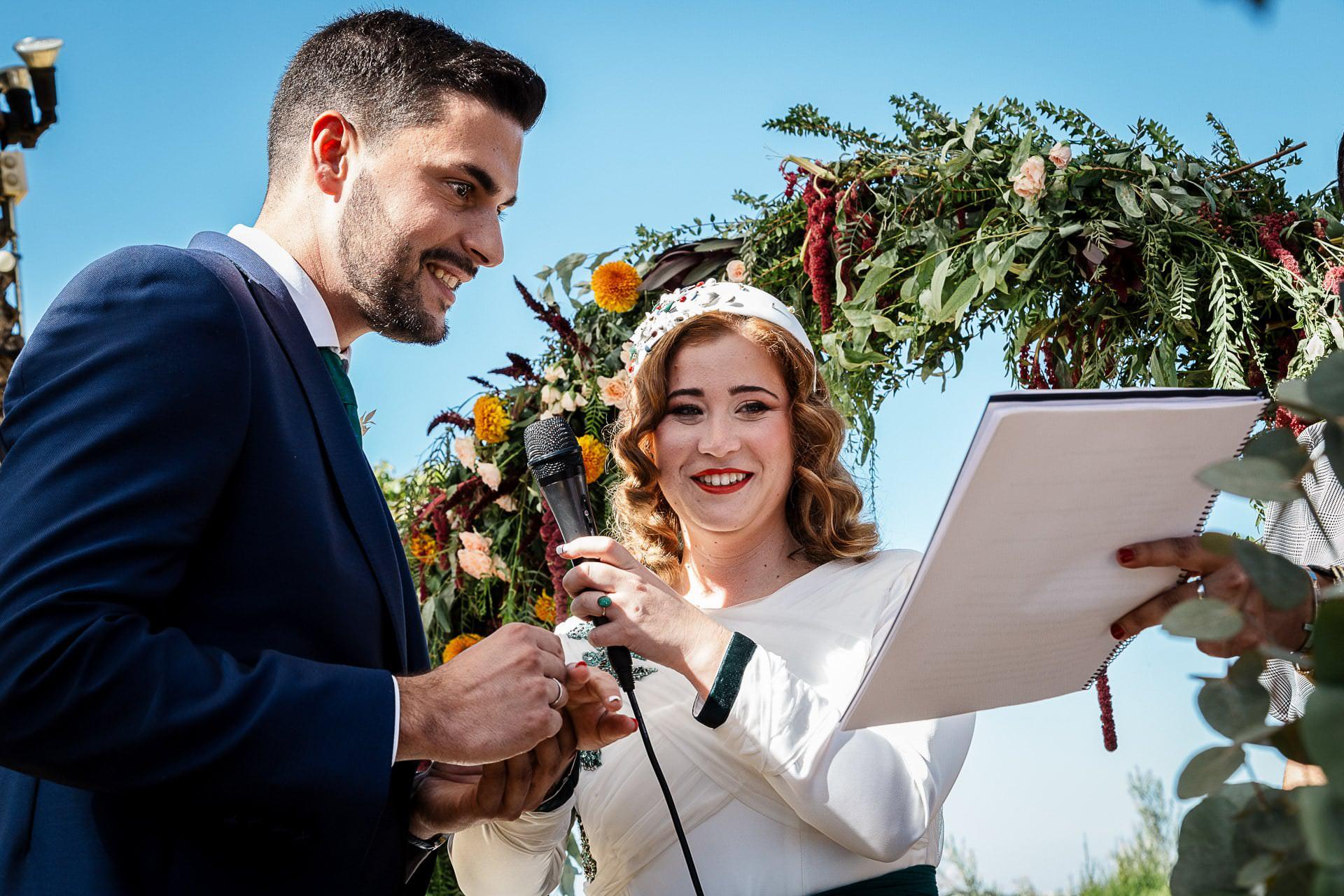 Ceremonia civil boda Córdoba