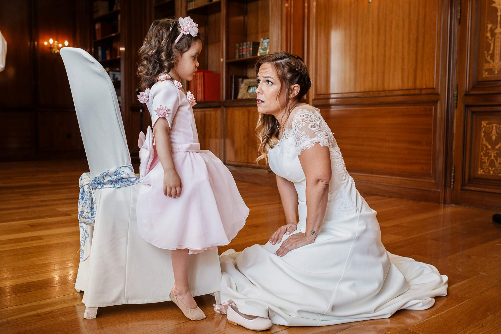 Preparativos novia Boda Palacio Monte Miramar