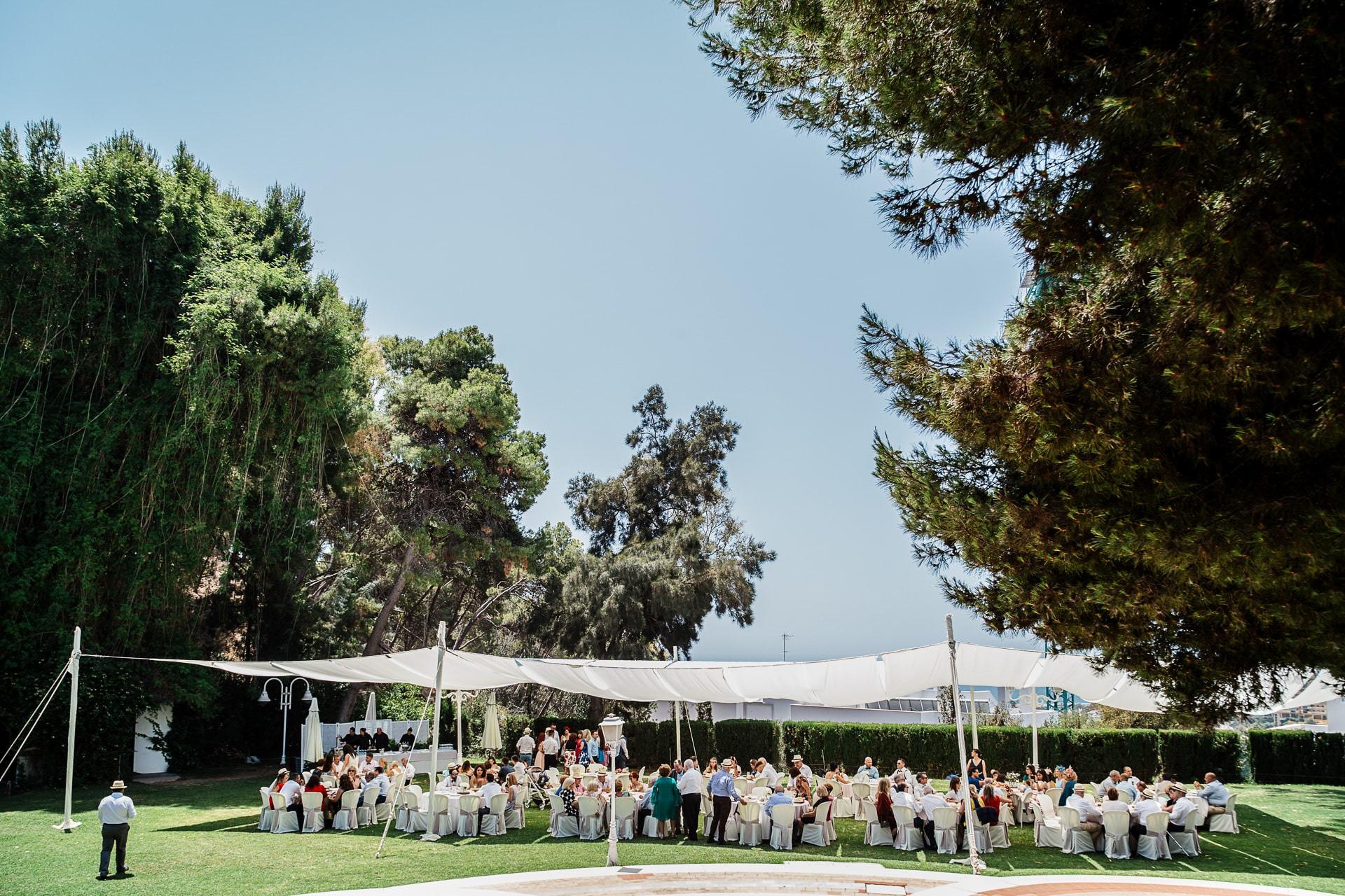 Cóctel de boda en Palacio Monte Miramar